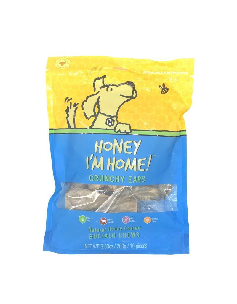 Honey I'm Home HONEY I'M HOME Buffalo Ears Dog Treat 4 Pack