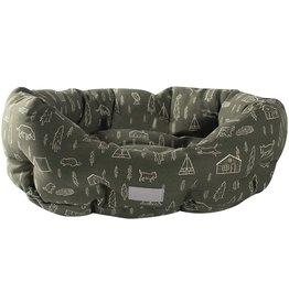 Fringe Studio Olive Camping Cuddler Bed