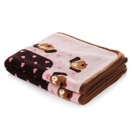 SmartPetLove SMARTPETLOVE Snuggle Blanket Pink Hearts