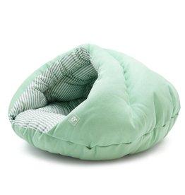 Dogo DOGO Burger Bed Solid Green
