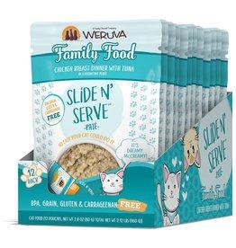 Weruva WERUVA Cat Slide N Serve Pouch Pate Family Food 12/Tray