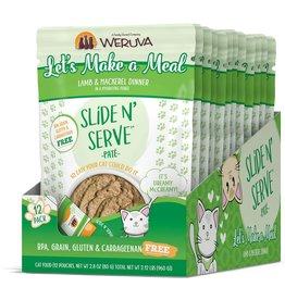 Weruva WERUVA Cat Slide N Serve Pouch Pate Let's Make a Meal 12/Tray