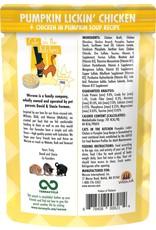 Weruva Cats in the Kitchen CITK Pumpkin Lickin' Chicken Grain-Free Cat Food Pouch Case 12/3 oz.