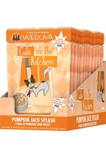Weruva Cats in the Kitchen CITK Pumpkin Jack Splash Grain-Free Cat Food Pouch Case 12/3 oz.