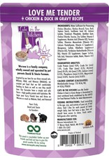 Weruva Cats in the Kitchen CITK Love Me Tender Grain-Free Cat Food Pouch Case 12/3 oz.