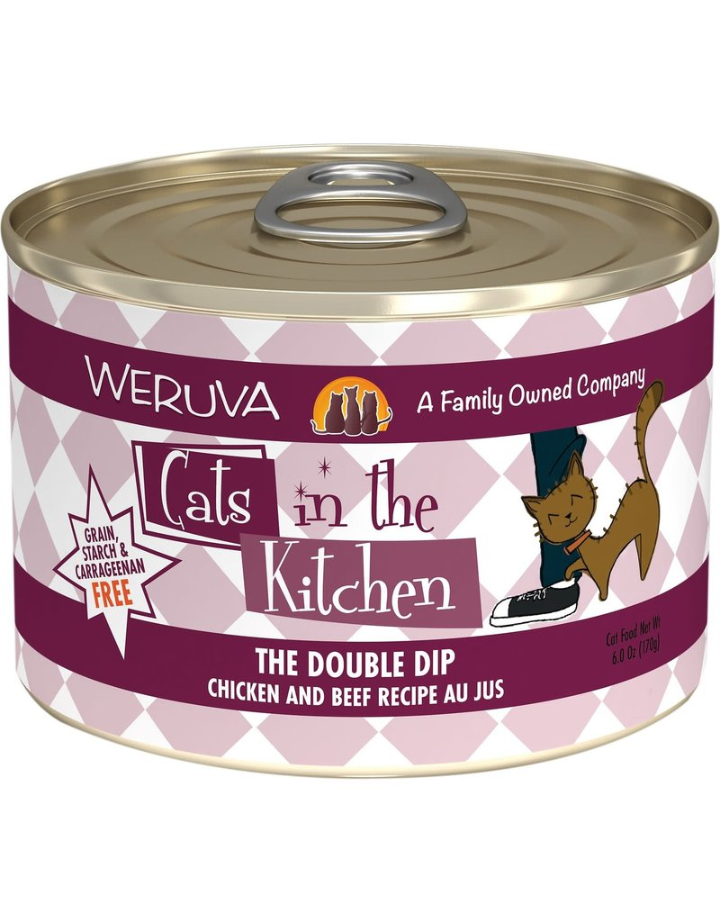Weruva Cats in the Kitchen CITK  The Double Dip Grain-Free Canned Cat Food Case