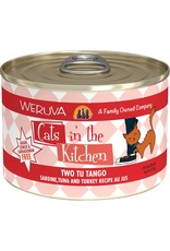Weruva Cats in the Kitchen WERUVA Cats in the Kitchen Two Tu Tango Grain-Free Canned Cat Food Case