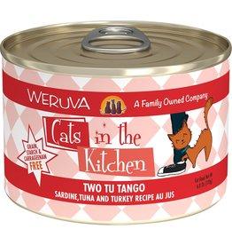 Weruva CITK Two Tu Tango Grain-Free Canned Cat Food Case