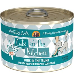 Weruva Cats in the Kitchen WERUVA Cats in the Kitchen Funk in the Trunk Grain-Free Canned Cat Food Case