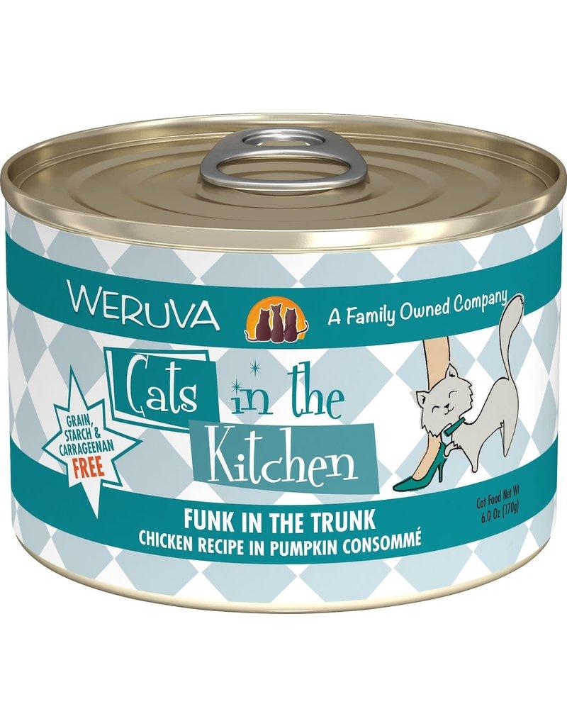 Weruva CITK Funk in the Trunk Grain-Free Canned Cat Food Case