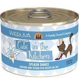 Weruva Cats in the Kitchen WERUVA Cats in the Kitchen Splash Dance Grain-Free Canned Cat Food Case