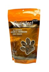 THE REAL MEAT CO REAL MEAT Chicken & Venison Jerky