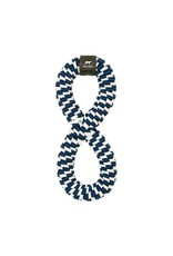 Tall Tails TALL TAILS Braided Infinity Dog Toy Navy