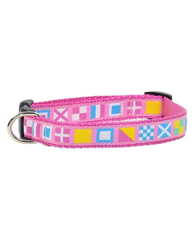Preston PRESTON Pink AZ Flag Dog Collar