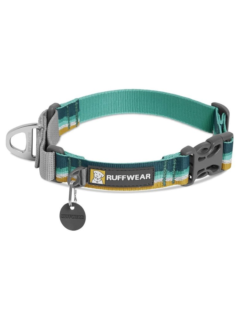 RUFFWEAR RUFFWEAR Web Reaction Martingale Dog Collar with Buckle Seafoam