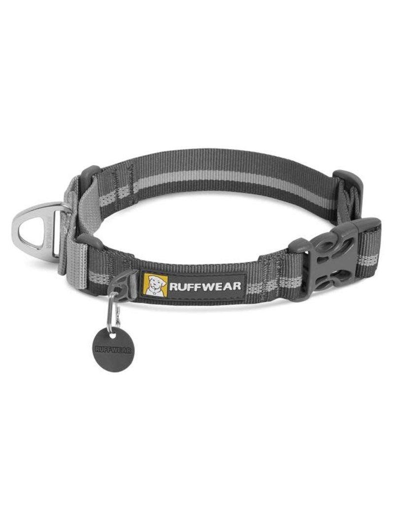 RUFFWEAR RUFFWEAR Web Reaction Martingale Dog Collar with Buckle Granite Gray