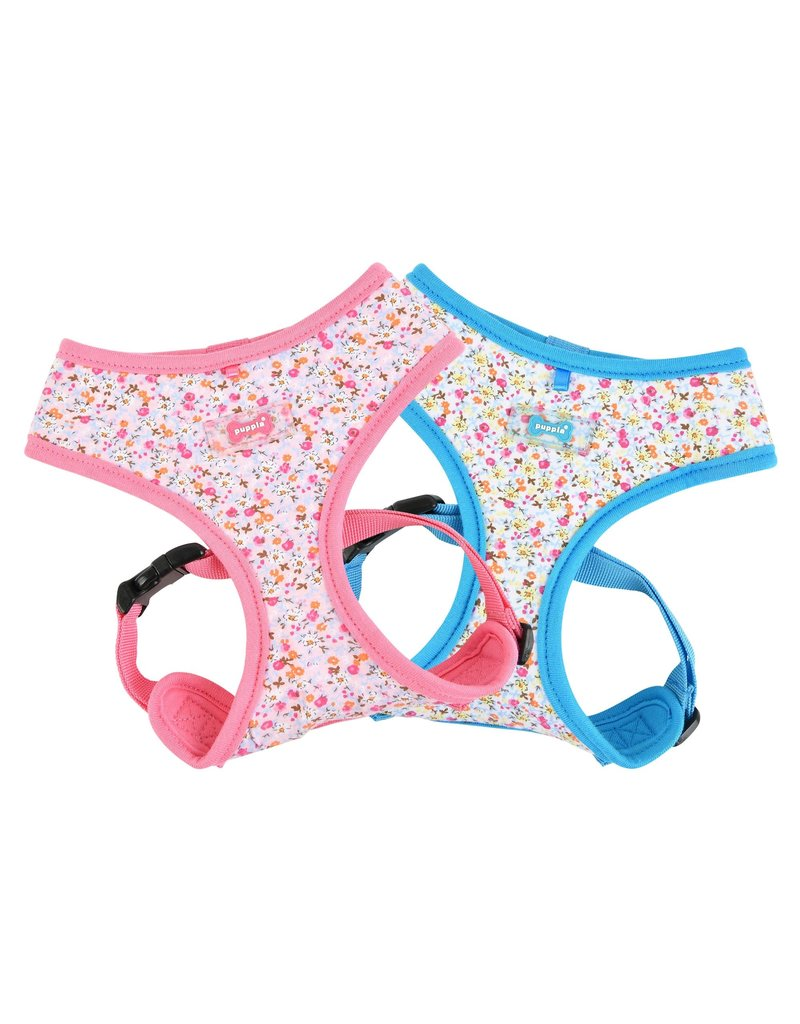 PUPPIA PUPPIA Wildflower Harness A Pink