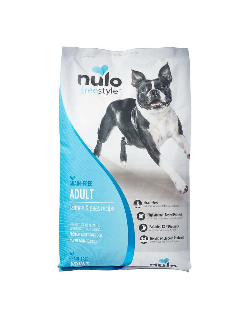 NULO NULO Freestyle Grain Free Salmon & Peas Dry Dog Food 24 lb