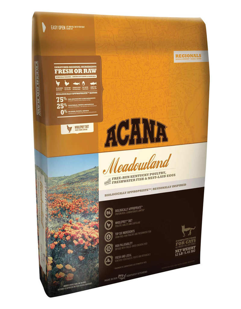 Acana ACANA Meadowlands Grain-Free Dry Cat & Kitten Food 10 lb.