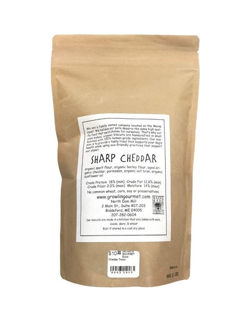 GROWLIN' GOURMET GROWLIN' GOURMET Sharp Cheddar Treats