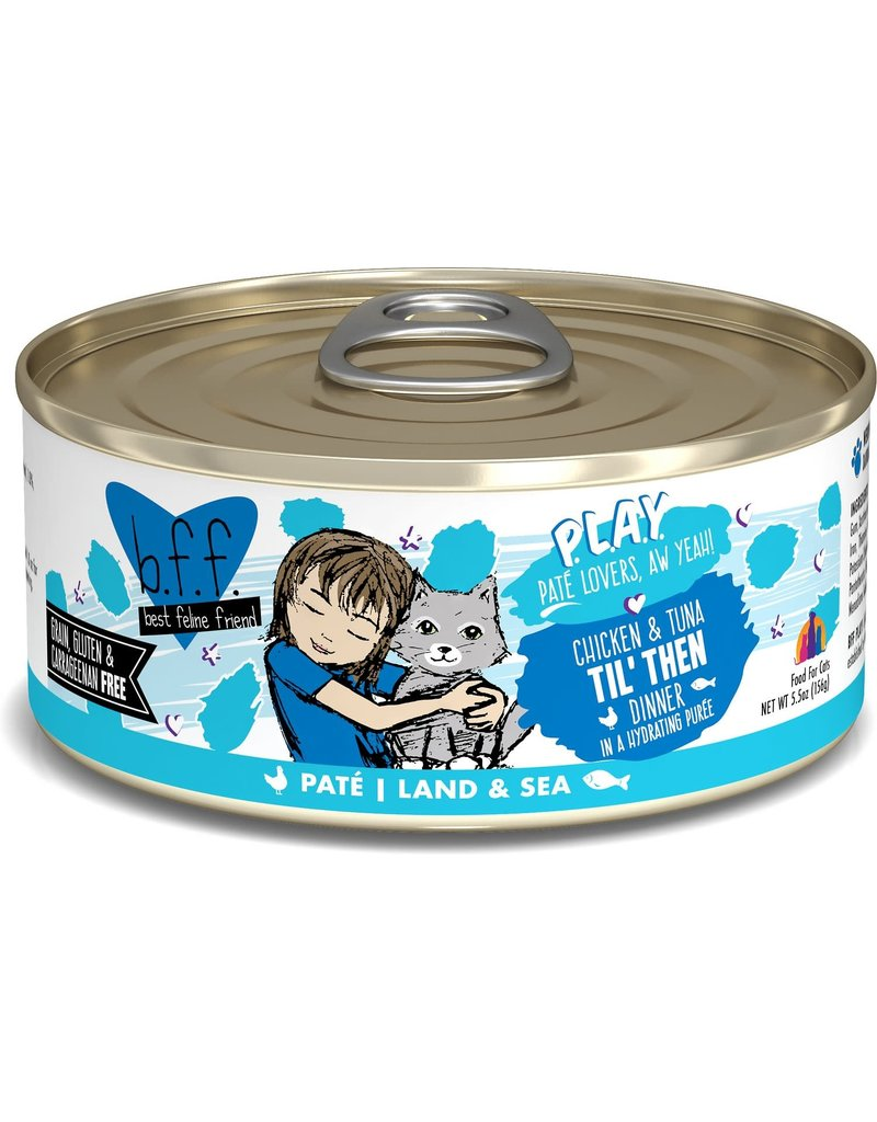 Weruva BFF PLAY Chicken & Tuna Til Then Canned Cat Food Case