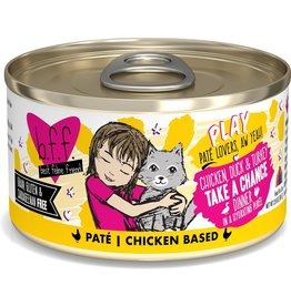 Weruva BFF BFF PLAY Take A Chance Chicken Canned Cat Food Case 12/2.8 oz