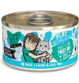 Weruva BFF BFF PLAY Turkey and Tuna Tweet Me Canned Cat Food Case