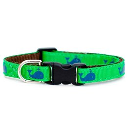 "SWEET PICKLES DESIGNS ""Big Catch"" Cat Collar 7 - 10"""