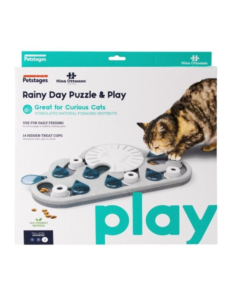 NINA OTTOSSON NINA OTTOSON Rainy Day Puzzle & Play Cat Toy