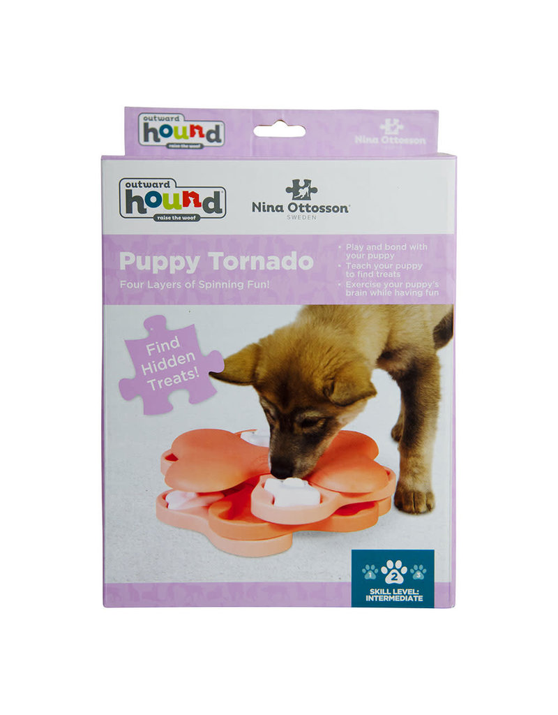 NINA OTTOSSON NINA OTTOSON  Puppy Tornado Interactive Treat Puzzle Dog Toy