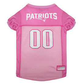HUNTER MANUFACTURING NFL Patriots Jersey Pink