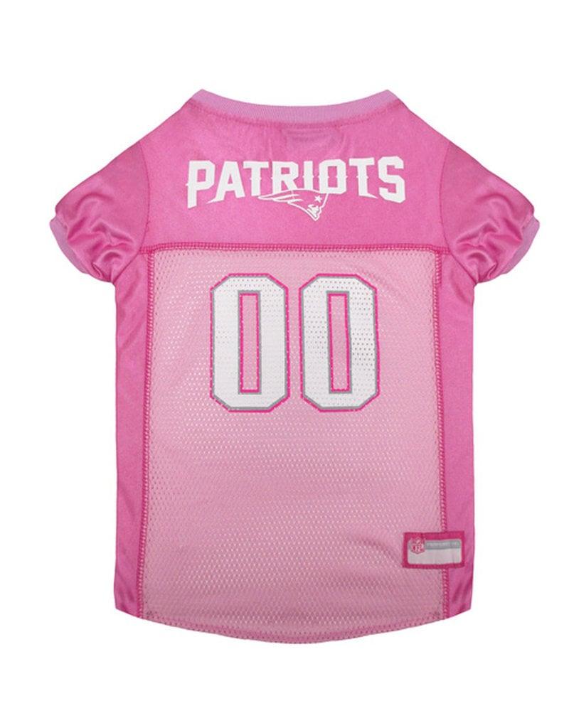 HUNTER MANUFACTURING NFL Patriots Jersey Pink