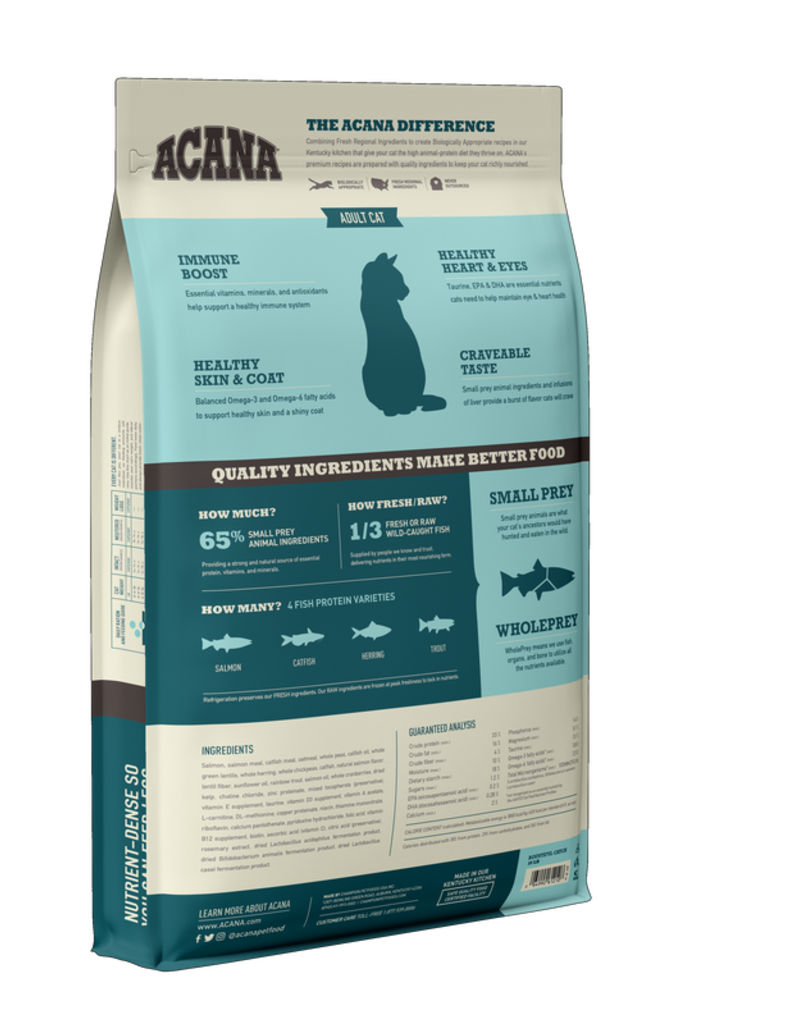 Acana ACANA Bountiful Catch Dry Cat Food 10lb