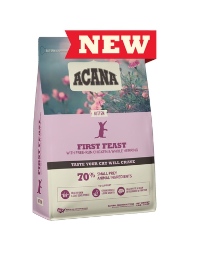 Acana ACANA First Feast Dry Cat Food 4lb