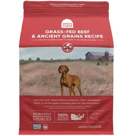 Open Farm OPEN FARM Ancient Grains Grass Fed Beef Dry Dog Food