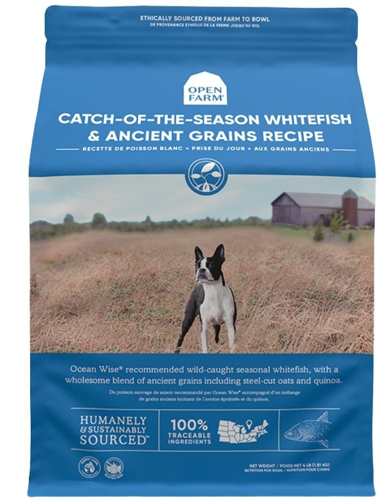 Open Farm OPEN FARM Ancient Grains Catch of the Season Whitefish Dry Dog Food