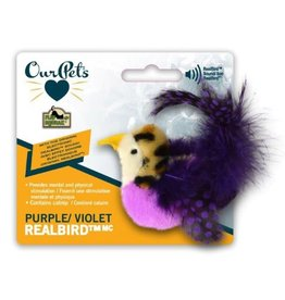 Our Pets OUR PETS Play-N-Squeak Purple  Realbird