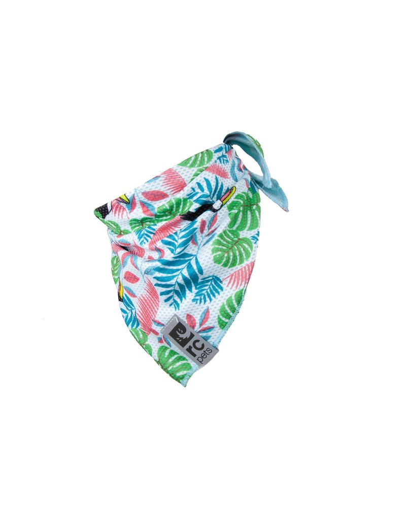 RC PET RC PET Zephyr Cooling Bandana Tropical Toucan