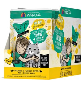 Weruva BFF BFF PLAY Tip Toe Chicken Pouch Cat Food CASE/12 3OZ