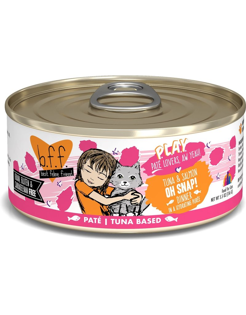 Weruva BFF BFF Play Oh Snap Tuna Canned Cat Food 5.5OZ CASE/8