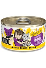 Weruva BFF BFF Play Best Buds Chicken Canned Cat Food 2.8OZ CASE/12