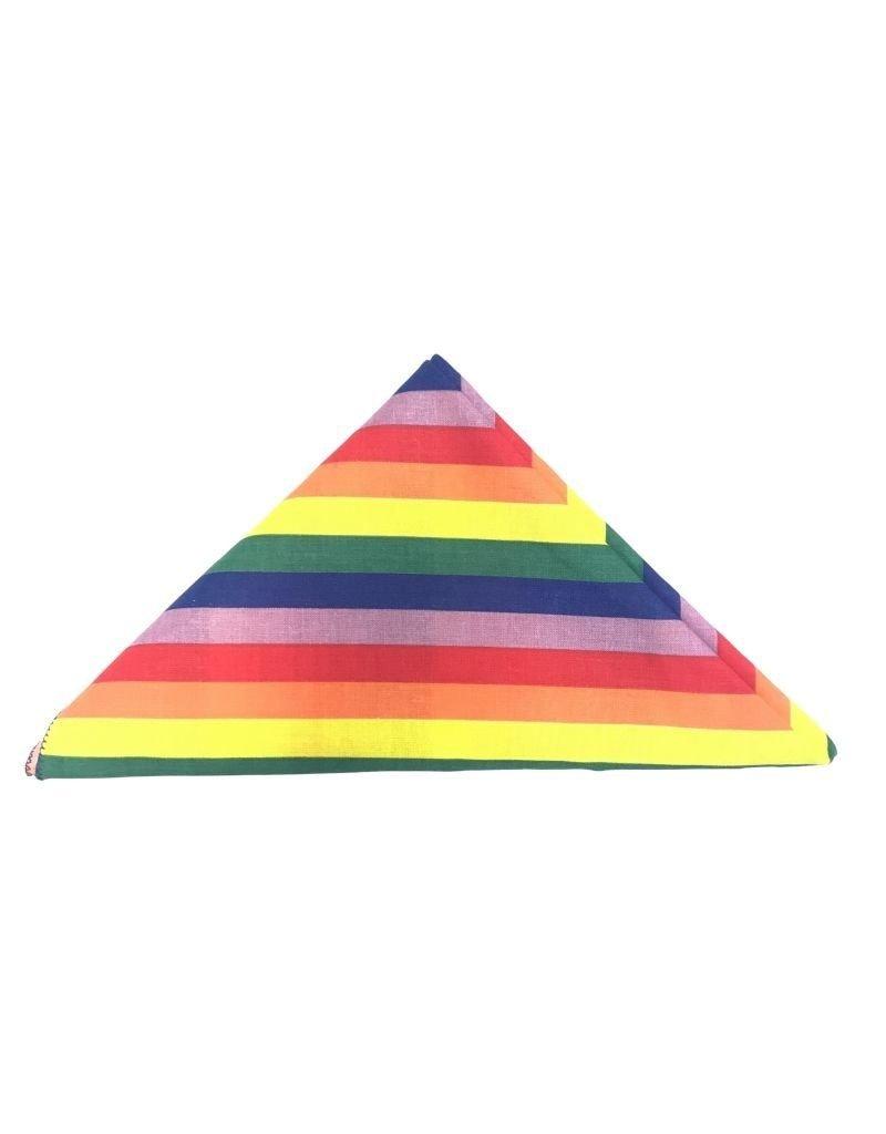 Carolina Manufacturing Novelty Bandana Freedom Rainbow