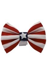 CHLOE & MAX CHLOE & MAX Bow Tie Stars & Stripes Red