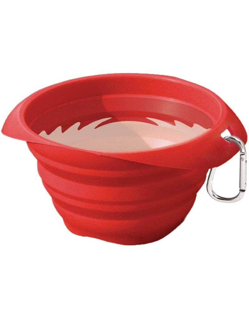 KURGO KURGO Collapsible Bowl Red