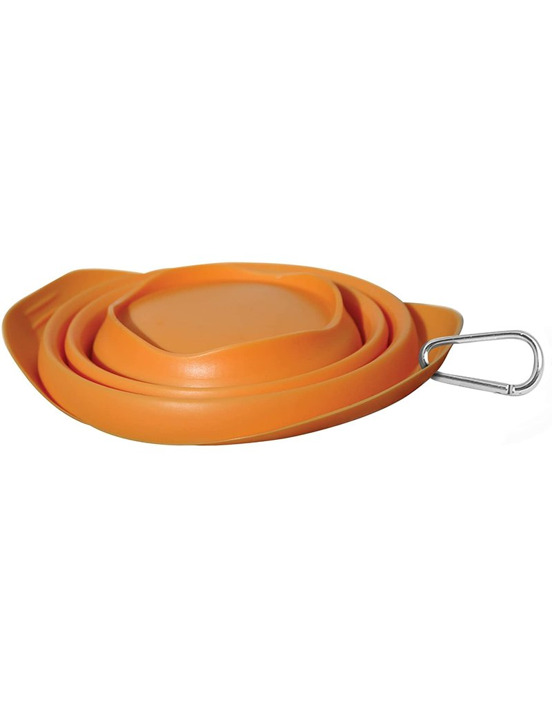 KURGO KURGO Collapsible Bowl Orange