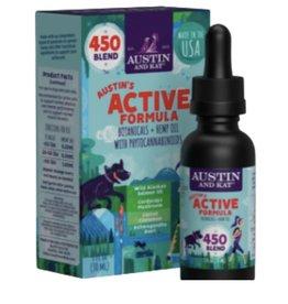 AUSTIN & KAT AUSTIN & KAT Austin's Active Formula Functional Broad Spectrum CBD Oil 450mg