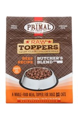 Primal Pet Foods PRIMAL Raw Toppers Butcher's Blend Beef Recipe 2lb