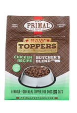 Primal Pet Foods PRIMAL Raw Toppers Butcher's Blend Chicken Recipe 2lb