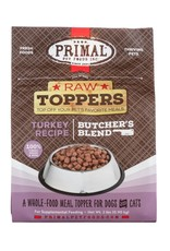 Primal Pet Foods PRIMAL Raw Toppers Butcher's Blend Turkey Recipe 2lb