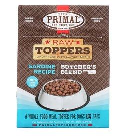 Primal Pet Foods PRIMAL Raw Toppers Butcher's Blend Sardine Recipe 2lb